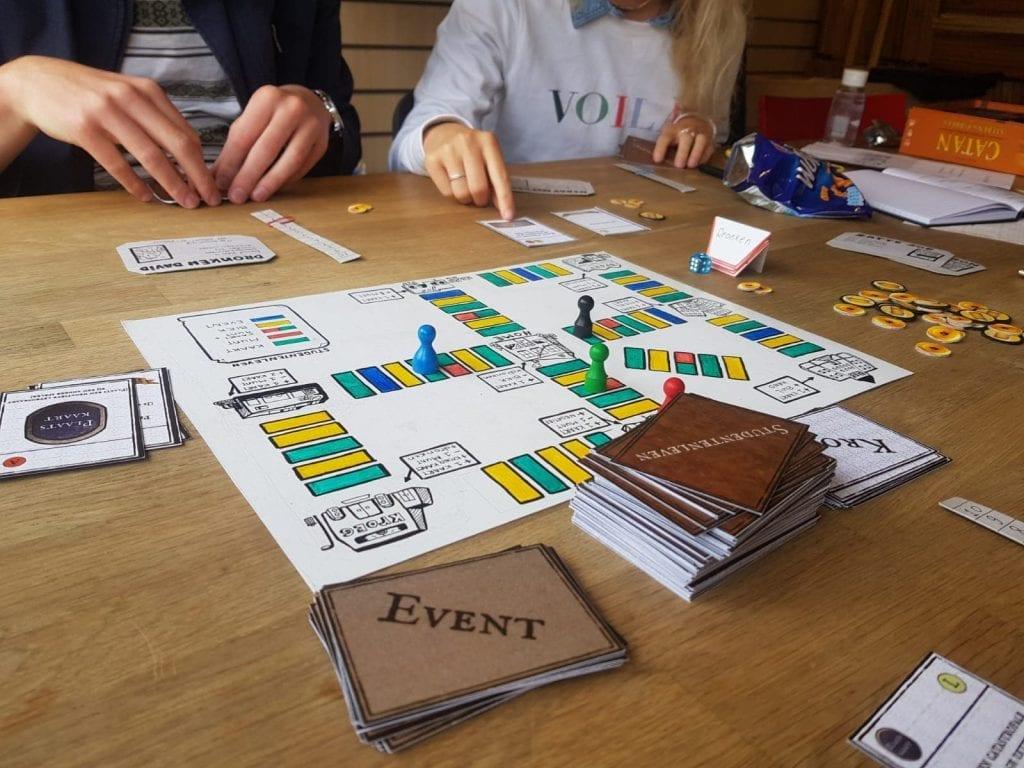 Studentenleven bordspel