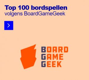Top 100 bordspellen volgens BoardGameGeek